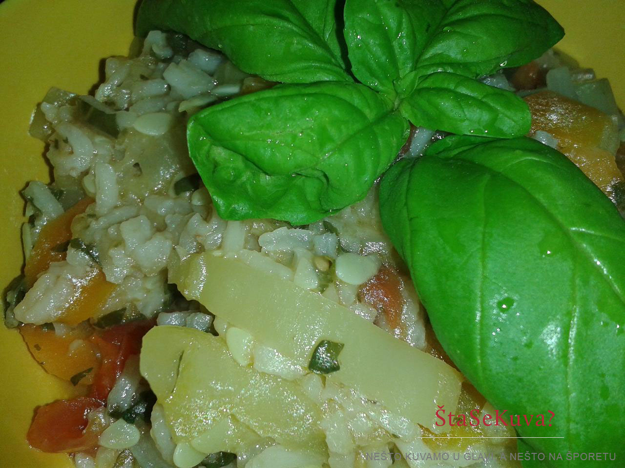 Šareni rižoto od povrća