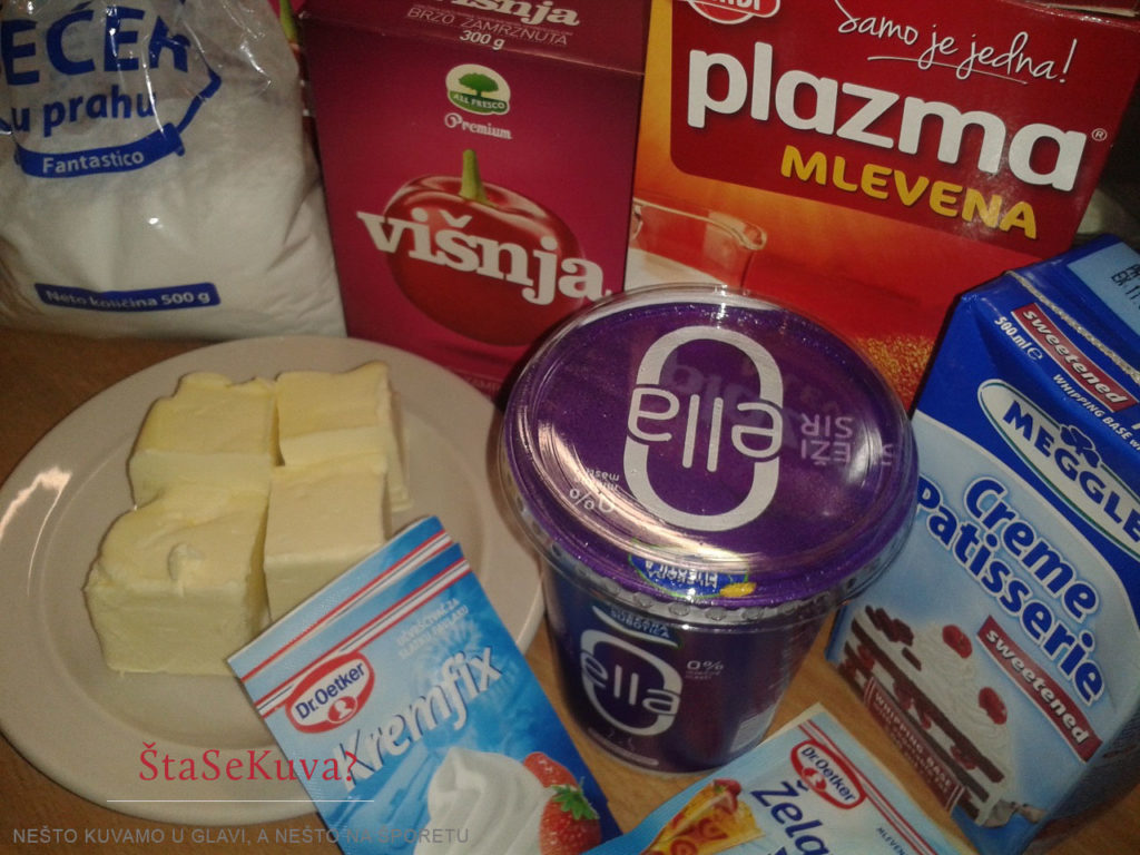 Najbolji recept za Cheesecake - potrebni sastojci
