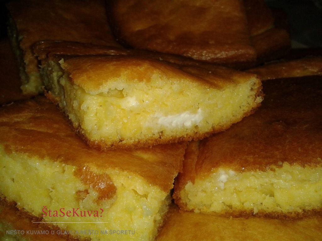 Proja sa sirom - kraljica srpske trpeze