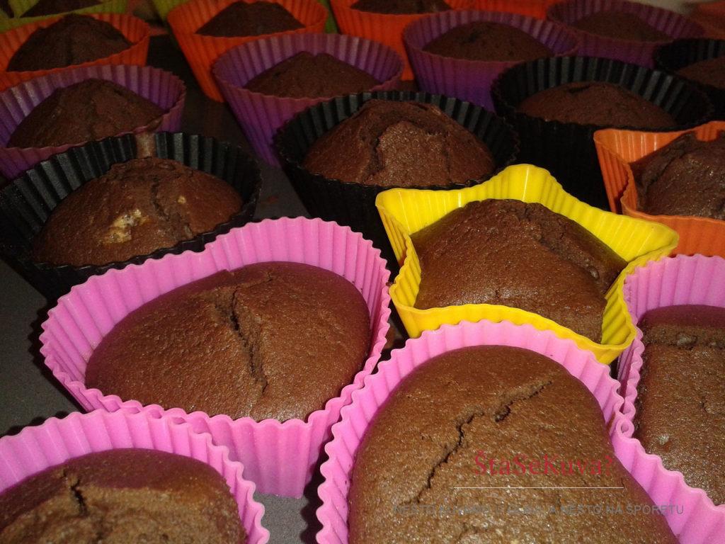 Čokoladni kapkejk (Cupcake) - ispečeni
