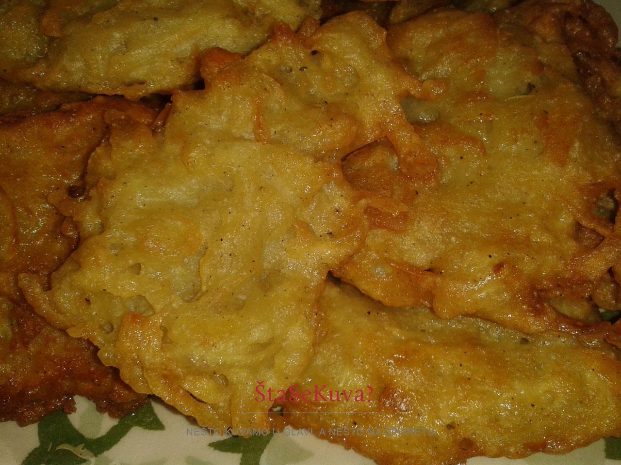 Hrskavi popečci od krompira ili samo pogačice od krompira