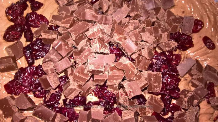 cokoladni-kuglof-sa-brusnicama