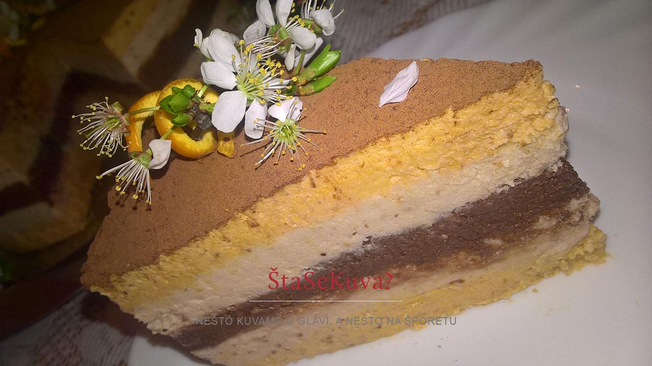 Lažna kesten torta (krompir torta)