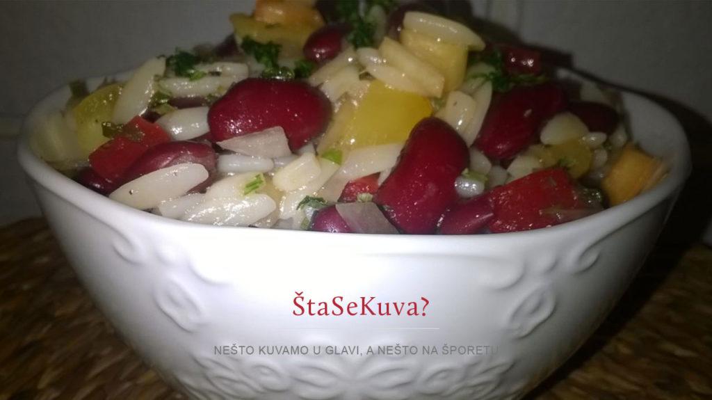 orzo-salata-sa-crvenim-pasuljem